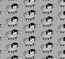GREY SHEEP by chibicelina