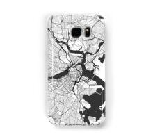 Boston Map Gray Samsung Galaxy Case/Skin