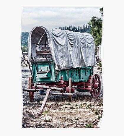 "Wagon Train ""The Applegate Trail"" Poster"