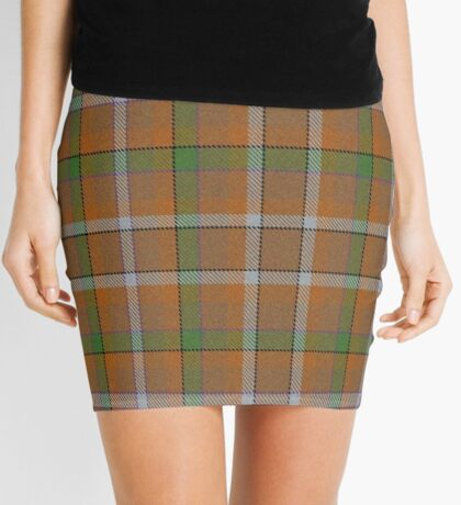 02909 Broome County, New York Tartan  Mini Skirt