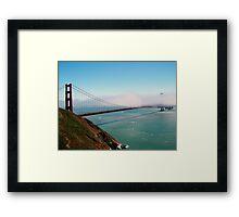 Golden Gate Bridge - Marin Headlands Framed Print