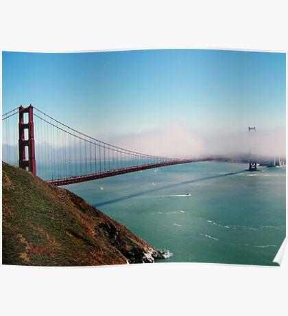 Golden Gate Bridge - Marin Headlands Poster