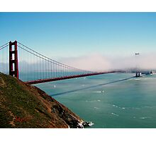Golden Gate Bridge - Marin Headlands Photographic Print