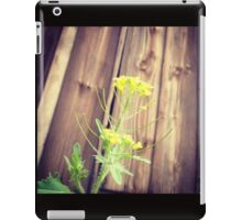 There's beauty Everywhere Even in a Weed iPad Case/Skin