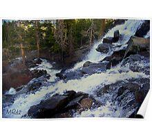 Eagle Creek Falls - Emerald Cove - Lake Tahoe Poster