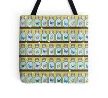 Zelda Inspired Fairy Bottle Pattern Tote Bag