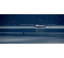 Haines Ferry on an Autumn day 1. Photographic Print