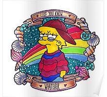 Lisa - Like you know... Whatever. Poster