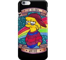 Lisa - Like you know... Whatever. iPhone Case/Skin