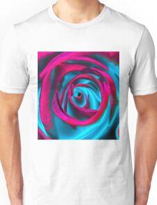 Velvet psychedelia - Rose design Unisex T-Shirt