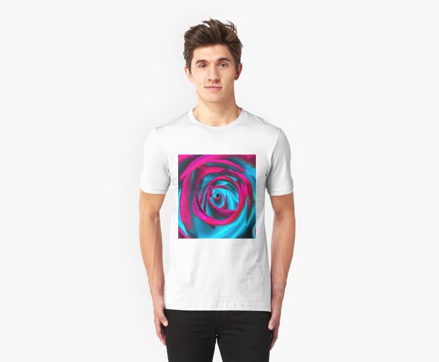 Velvet psychedelia - Rose design by Jessica Millman