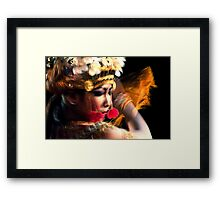 Movement And My Feelings Framed Print