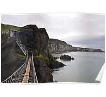 Carrick Rope Bridge Poster
