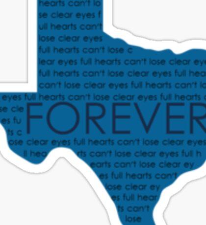 Texas Forever Sticker