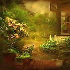 """""""The Little Brick Pathway ..."""" by Rosehaven"""