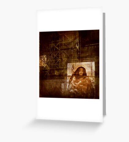 The Witness Greeting Card