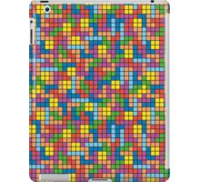 Tetris Inspired Multicolored Pattern iPad Case/Skin