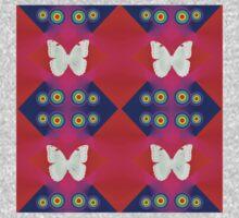 Butterflies Lux Y One Piece - Short Sleeve