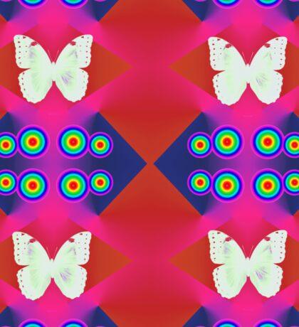 Butterflies Lux Y Sticker