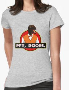 Pft, doors. Womens Fitted T-Shirt