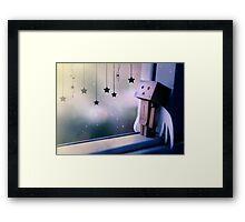Fallen Danbo Framed Print
