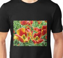 Yellow and Red Tulips For Everyone Unisex T-Shirt