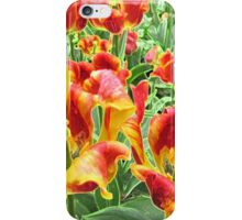 Yellow and Red Tulips For Everyone iPhone Case/Skin