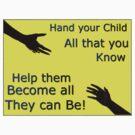 Helping kids by Bernie Stronner