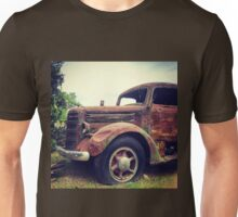 Rusty Broke Down Pickup Truck Unisex T-Shirt