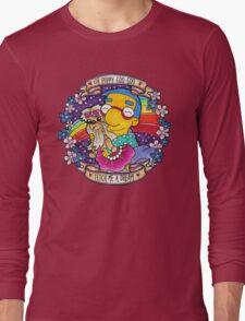 Milhouse - Oh Puppy Goo-Goo... Fetch me a dream! Long Sleeve T-Shirt