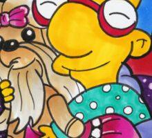 Milhouse - Oh Puppy Goo-Goo... Fetch me a dream! Sticker