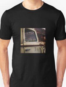 Rusty Ol' White Pickup Unisex T-Shirt