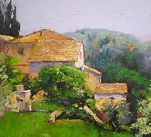 Tuscan Village  by Chris Hobel
