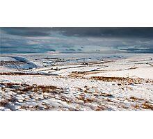 Winter moorland scene Photographic Print