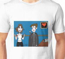 Vampires Need Love Too! ...Jhonen makes Rebecca vampire, by mistake Unisex T-Shirt