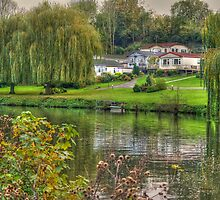 River Medway at East Farleigh  by Bel Menpes