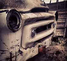Classic Truck Abandoned in Washington State by JULIENICOLEWEBB