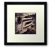Classic Truck Abandoned in Washington State Framed Print
