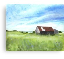 Wrabness Barn Canvas Print
