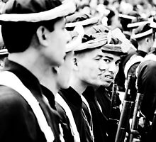 Nepalese Soldiers by aitor314