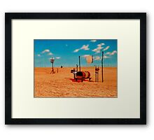 Outback Mail Framed Print