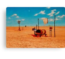 Outback Mail Canvas Print