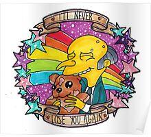 Mr Burns - Bobo!  Poster