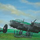 Loading Up Lancasters by Lee Twigger
