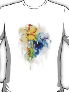 Floral watercolor illustration T-Shirt