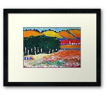 Balingup hills Framed Print
