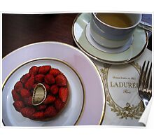 Afternoon Tea at Laudre Poster