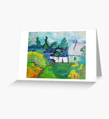 Croft House B&B, Nova Scotia Greeting Card