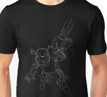 buck bumble grey Unisex T-Shirt