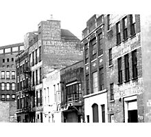 Rear of buildings, Albany Photographic Print